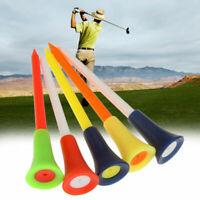 83mm Kunststoff Golf Tees Verschiedene Farben + Farbe zufällige  Ausrüstungen