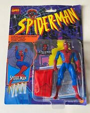 SPIDER MAN WEB PARACHUTE TOY BIZ ACTION FIGURE MARVEL 1995 NEW SEALED SPIDERMAN
