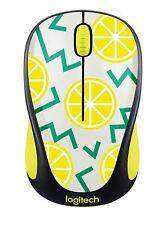 Logitech souris sans fil M325 Nano Sans Fil Optique Mini Souris Citron