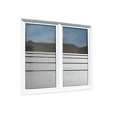 Fensterfolie Sichtschutzfolie diverse Streifenmuster Küche Bad WC Büro Praxis