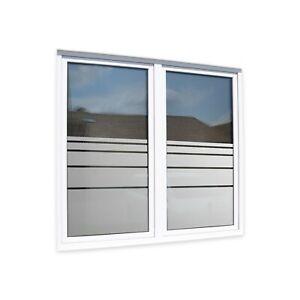 Fensterfolien für perfekten Sichtschutz - Streifen als Schutz Ihrer Privatsphäre