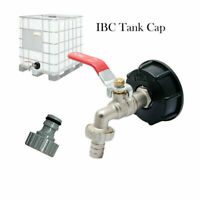 """IBC Tank to 1/2""""Yard Garden Water Tap Hose Connector Adapter Fittings Tool S60X6"""