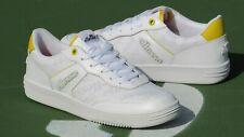 ellesse Vinitziana 2.0 OG Tennis Shoe White Yellow 6-10224 Mens Size 10