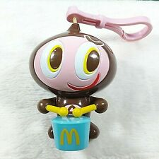 2004 Vintage McDonald's Happy Meal Toy Pull Rope Drum Drumstick Collectibles