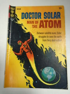 Gold Key DOCTOR SOLAR MAN OF THE ATOM #16 (1966) Frank Bolle Art