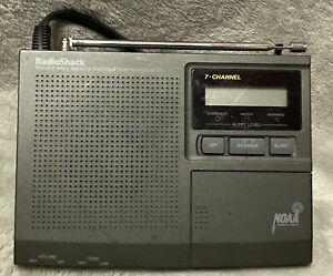 Radio Shack Weather Radio 7-Channel Digital NOAA Alert System 12-250 - Tested