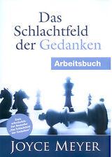 Joyce Meyer-Das Schlachtfeld der Gedanken - Arbeitsbuch(*NEU*)