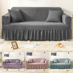 1/2/3/4 Stretch Sofa Covers 4 Seater Set Couch Cover Slipcovers for Living Room