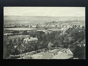 Cheshire FRODSHAM View from Overton Hill c1905 Postcard by Valentine