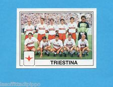 PANINI CALCIATORI 1989/90 -Figurina n.495- SQUADRA - TRIESTINA -Recuperata
