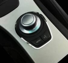 D BMW e90 e91 CROMO QUADRO PER INTERRUTTORE Menu-acciaio inox lucidato