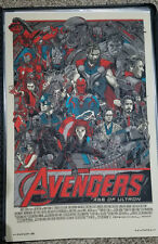 Tyler Stout Marvel AVENGERS AGE OF ULTRON print Mondo limited poster