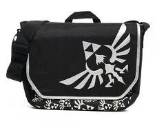 Nintendo Legend of Zelda elda Triforce Black Messenger Laptop Bag Epic Backpack
