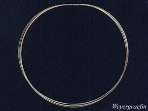 COLLIER-REIF Bicolor 750er Gold 5 strangig, Halsreif für  Anhänger&Perlen,45cm
