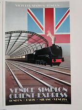 Venice Simplon Orient Express Train 1983 London Paris Beograd Sofia Istanbul
