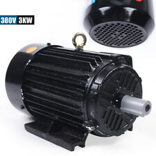 380V Electric Asynchronous Motors 3kW 3-phase motor  2-pole 2800 rpm IP 44