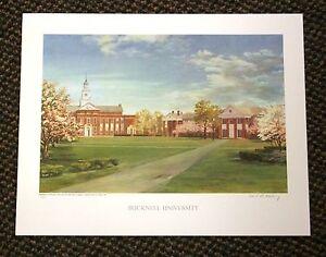 BUCKNELL UNIVERSITY fine art print Keeling No Reserve