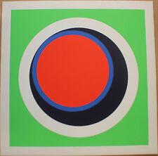 CLAISSE Geneviève - Sérigraphie signée numérotée abstrait géométrique 1967 H3