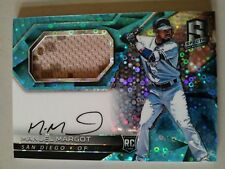 Padres MANUEL MARGOT /99 2017 Spectra JERSEY AUTO Rookie Card SP Relic RC MANNY