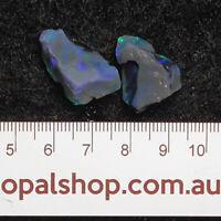 Seam Opal from Lightning Ridge Black Opal Country, Opal Rough Parcel - Ro1855