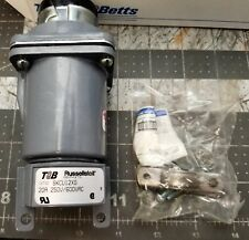 T&B RUSSELLSTOLL SKCU12XG CONNECTOR 20A 250/600VAC 11 Pole 12 Wire, 20 Amp[A8S2]
