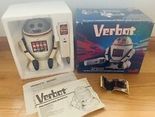 Vintage 1984 Verbot Voice Programmable Robot by Tomy JAPAN TESTED WORKS 5401