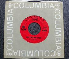 "7"" Bob Dylan-Like a Rolling Stone-USA Columbia"