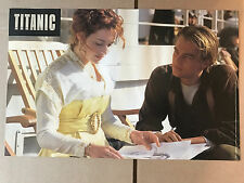 Double-Sided 1998 Titanic Movie Poster by Blockbuster  DiCaprio Winslet 11X17