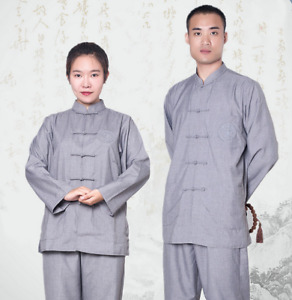Buddhist high-quality monk meditation clothing Kung Fu martial arts clothing
