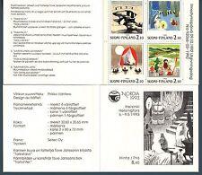 """FINLANDIA - Libretto - 1992 - """"Nordia '93"""". Esposizione Filatelica Internaz."""
