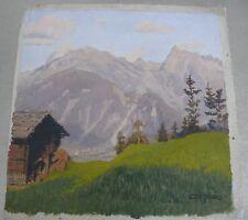Lore Griesmar (1889-1946) en el mayrhofen Zillertal/Tirol