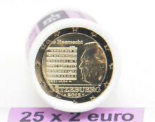 "Roll  Rouleau - 2013 – Luxembourg – 25 x 2 Euro  - ""Hymne National"""
