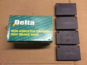 New Delta 763-D43 Organic Disc Brake Pad Pads