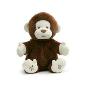 Gund Clappy the Monkey Animated Plush 28cm - Plays Game & Sings