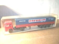 WIKING 1:87 CAMION - Man - SEMI-REMORQUE avec long plat CAMIONS n°517