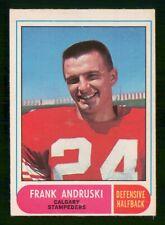 FRANK ANDRUSKI 1968 O-PEE-CHEE CFL 68 NO 76 EX  32872