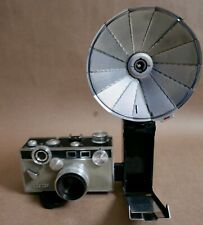 Argus C3 Matchmatic 35MM Rangefinder W/ Argus Flash, Works, Tested