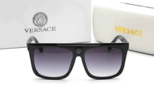Brand New VERSACE Sunglasses BLACK/SOLID GRAY Women Men Unisex VE 9264