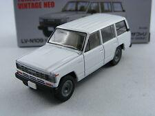 Nissan Safari Van DX in bianco, Tomytec Tomica Limousine VINTAGE NEO lv-n109b,1/64