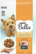 Purina Bella Natural Bites with Real Chicken & Beef & Accents of Sweet Potatoes