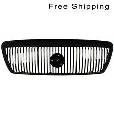 Front Painted Black Grille Fits 03-04 Mercury Marauder FO1200409