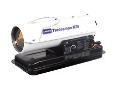 Lb White Tradesman K75 Heater 75,000 Btuh, Kerosene, # 1 or # 2 Fuel Oil