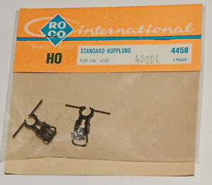 Roco H0 4458   Standard-Kupplungen für Lok 4128   1Paar  in OVP