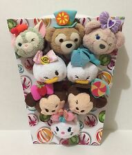 Free Shipping Authentic HONG KONG Disney Store Fun Fair Candies Tsum Plush Set