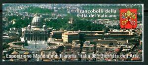 Vatican City #MiMH7 MNH Booklet CV€10.00 1998 Good Shepherd Milan [1086a]