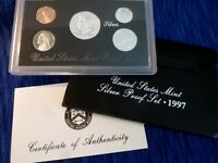 1997 S United States Mint Silver Proof Set w/ OGP & COA
