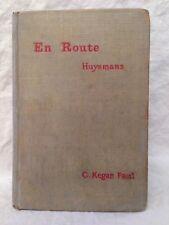 J-K Huysmans, En Route, 1896 - Alban Baverstock's Copy Manuscript Poem, Catholic