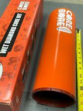 Diamond Products Core Bore 5 Concrete Bit Heavy Duty Segmented