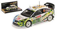 Minichamps Ford Focus RS WRC 'Stobart' RAC GB 2008 Valentino Rossi 1/43 Scale