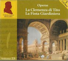 5 CD Box-Mozart Edition Vol.23-Operas La Clemenza di Tito, La Finta Giardiniera